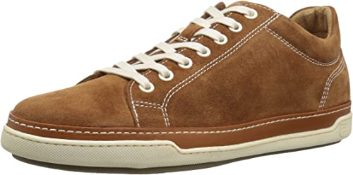 Allen Edmonds Men's Porter Derby Turnschuhe, tan Suede, 7 D US