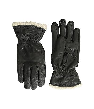 Hestra Deerskin Primaloft (Black) Ski Gloves