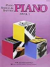 Piano básico de Bastien, nivel 1. Piano