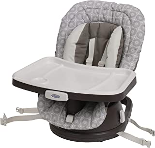 Graco Swivi Seat 3-in-1 Booster High Chair, Abbington
