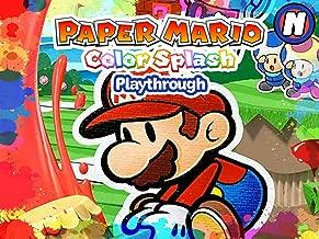 Clip: Paper Mario Color Splash Playthrough