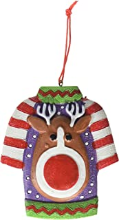 Fun Express ~ The Legend of Ugly Christmas Sweater Holiday Ornament Gag Gifts