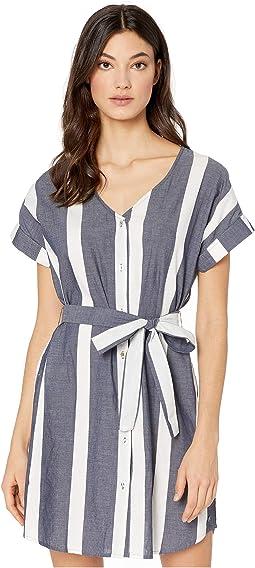 Mood Indigo Sunshade Stripes