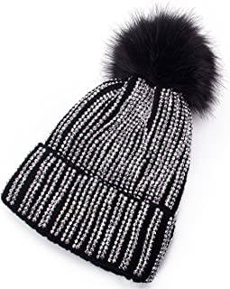 rhinestone winter hats