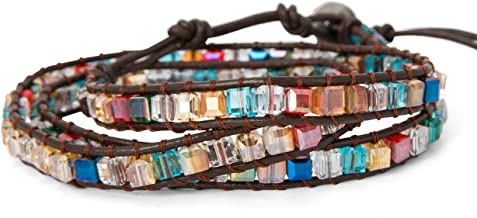 SPUNKYsoul New! Dazzling Handmade Leather Wrap Bracelet Collection