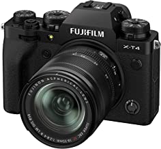 Fujifilm X-T4 Mirrorless Digital Camera XF18-55mm Lens Kit - Black
