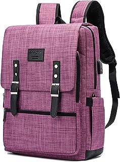 Vintage Backpack Anti Theft Laptop Backpack Men Women Business Travel Computer Backpack School College Bookbag Stylish Wat...