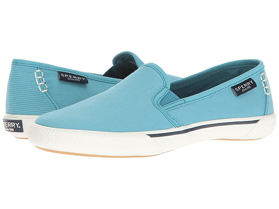Sperry Quest Cay Canvas (Teal) Women