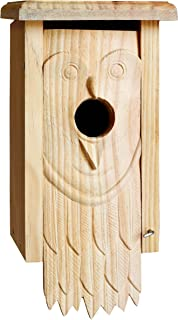 Welliver Outdoors Carved Bird House, Owl