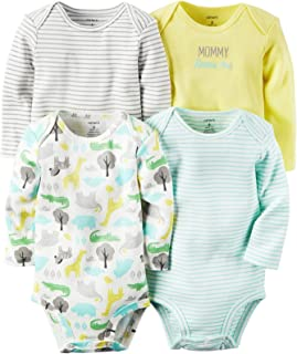Carter's Baby Girls' Multi-pk Bodysuits 126g362