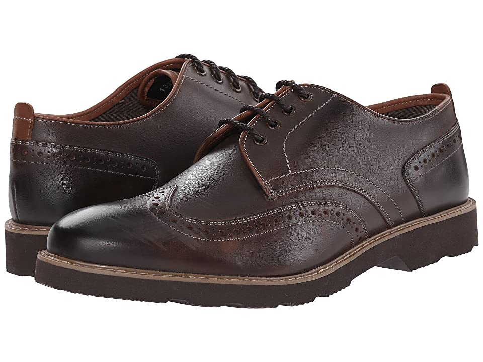 Florsheim Casey Wingtip Oxford (Brown Smooth) Men