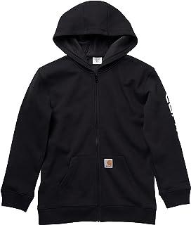 Carhartt Boys' Knit Long Sleeve Hoodneck Sweatshirt