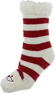 Women's Winter Holiday Sherpa Lined Slipper Socks