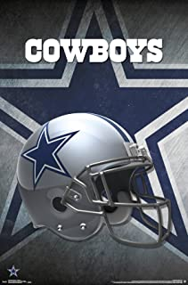"Trends International Dallas Cowboys Helmet Wall Poster 22.375"" x 34"""