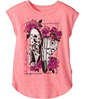 Converse Kids - Chucks N Roses Tee (Toddler/Little Kids)