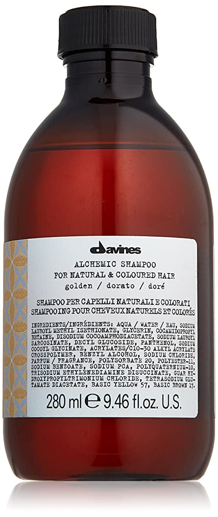 ある可決威するダヴィネス Alchemic Shampoo - # Golden (For Natural & Coloured Hair) 280ml/9.46oz並行輸入品