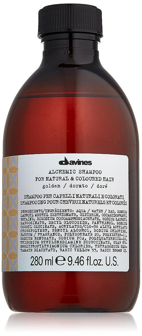 大統領溶けた抗生物質ダヴィネス Alchemic Shampoo - # Golden (For Natural & Coloured Hair) 280ml/9.46oz並行輸入品