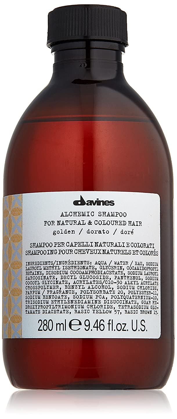 泥沼洋服球状ダヴィネス Alchemic Shampoo - # Golden (For Natural & Coloured Hair) 280ml/9.46oz並行輸入品