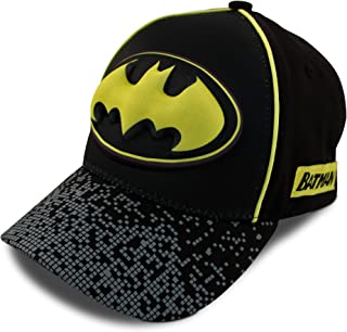 Kids Baseball Cap for Boys Ages 2-7, Batman, Superman, Justice League 3D POP Little Kids and Toddler Baseball Hat