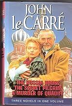 "John Le Carre Omnibus: ""Russia House"", ""Secret Pilgrim"", ""Murder of Quality"""