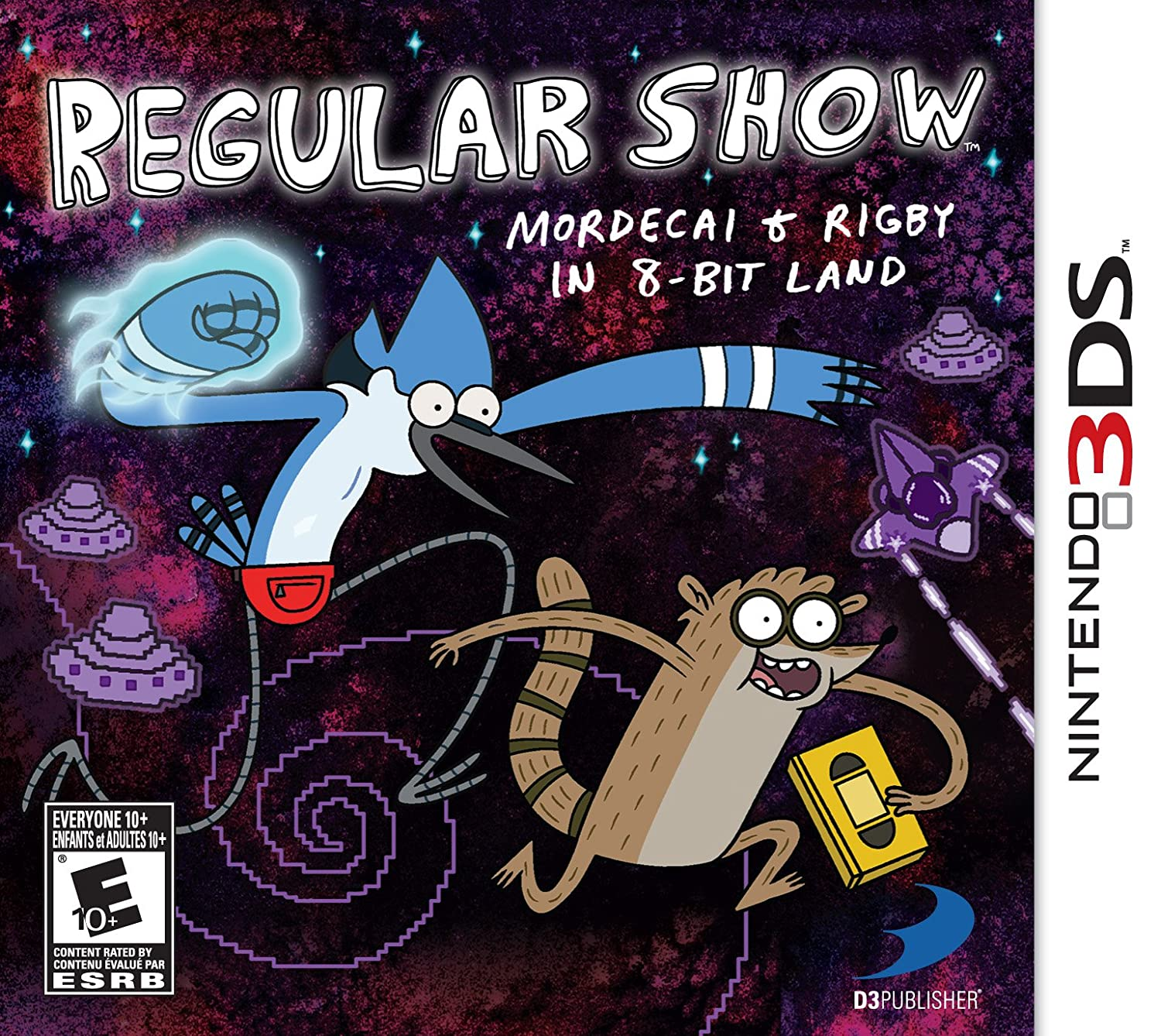Regular Show: In stock Mordecai and Rigby in - Nintendo 3DS Super special price 8-bit Land