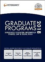 Graduate Programs in Business, Education, Information Studies, Law & Social Work 2018