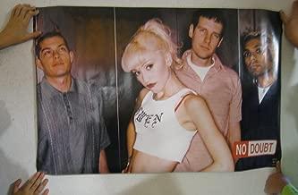 No Doubt Poster Band Shot Gwen Stefani White Early