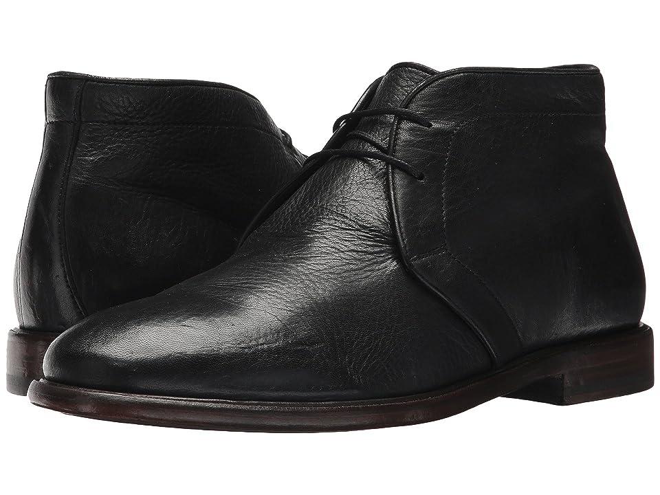 Frye Fisher Chukka (Black Deer Skin Leather) Men