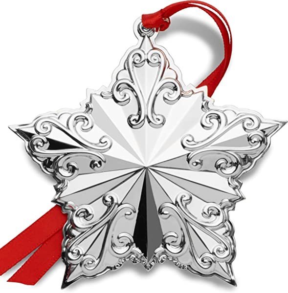 Towle 2019 Star Ornament 23rd Edition Holiday Ornament Metal