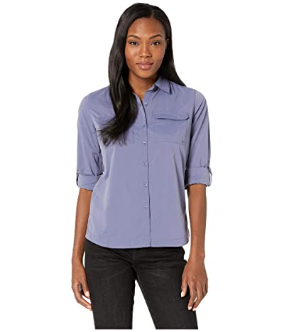 ExOfficio Missoula Long Sleeve Shirt (Blue Heron) Women