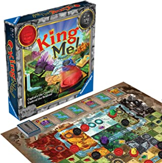 Ravensburger King Me Strategy Board Game Ages 8 & Up - A Fantastical Take On Classic Checkers