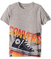 Short Sleeve Photorealistic Chucks Graphic T-Shirt (Little Kids)