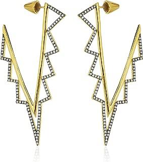 nOir Jewelry Ice Fall Earrings