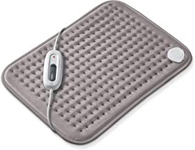 Beurer Small Ultra-Soft Heating Pad, Fast-Heating, for Neck, Elbow, Knee, Shoulder, Cramps and Back Pain Relief, 6 Tempera...