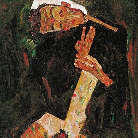 Amazon.com: The Poet (autorretrato) 1911 Póster de Egon Schiele (24 x 36) :  Hogar y Cocina