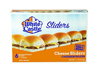 White Castle, Cheeseburgers, 11 oz (Frozen)