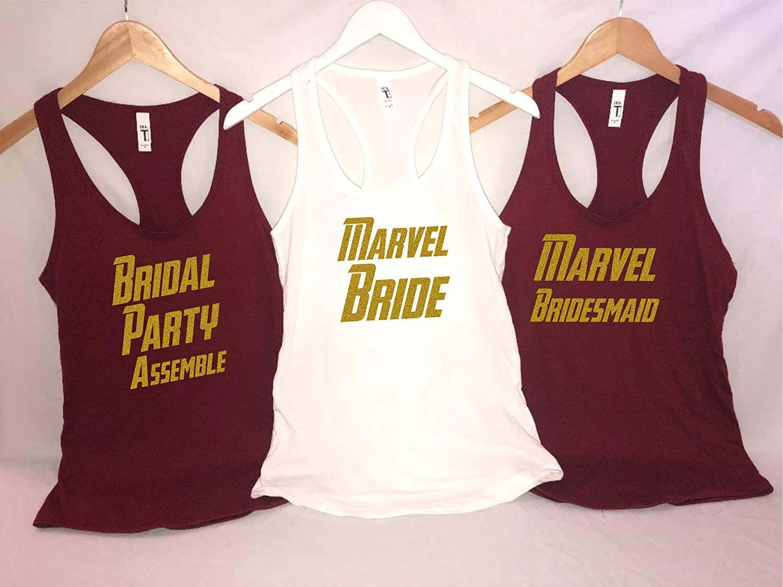 Marvel Bride - Bridal Party custo bridal shirts Max 75% Max 58% OFF OFF party Assemble