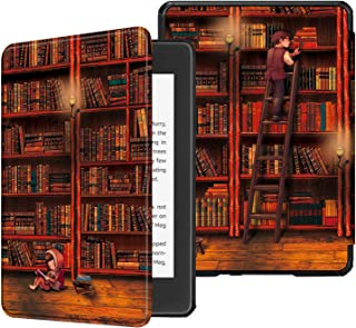 Fintie Slimshell Case for All-new Kindle Paperwhite (10th Generation, 2018 Release) - Premium Lightweight PU Leather Cover...