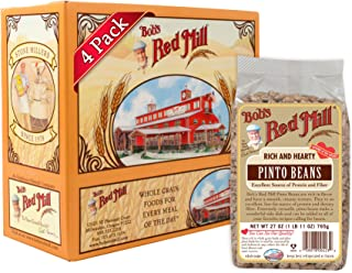 Bob's Red Mill Rich and Hearty Pinto Beans, 27 Ounce (Pack of 4)