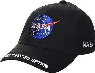 Nasa Logo Unisex Cappello Nero