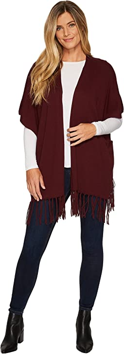 NYDJ - Sweater Wrap w/ Fringe
