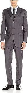Cerruti 1881 Men's 3 Button Stripe Suit