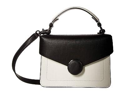 Botkier Nolita Crossbody (Black/White) Cross Body Handbags