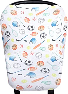 basketball car seat covers
