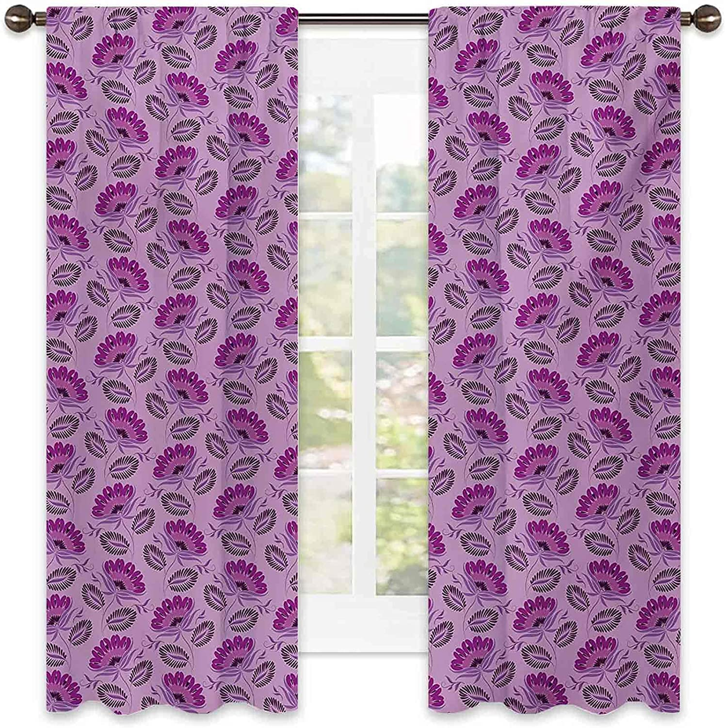 Purple Energy-Saving and Noise-reducing Floral SALENEW very Classic popular Composition Dama