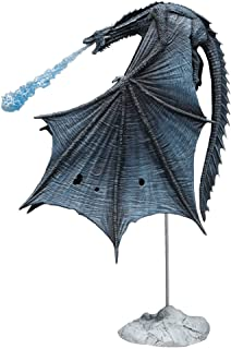 McFarlane Toys Game of Thrones Viserion Ice Dragon Deluxe Box, Blue