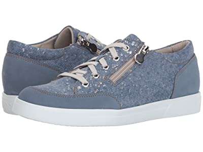 Munro Gabbie (Denim Metallic Print) Women
