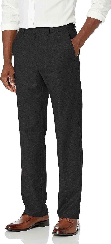 J.M. Haggar Men's Texture Weave Stretch Classic Fit Suit Separate Pant