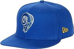 NFL Basic Snap 9FIFTY Snapback Cap - Los Angeles Rams