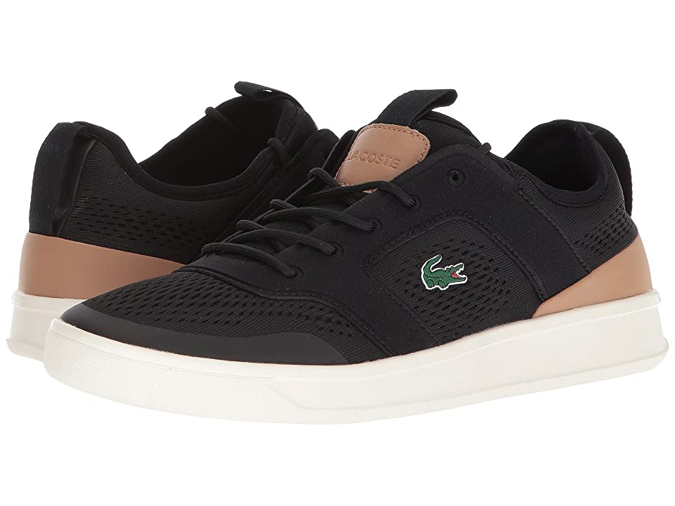 Lacoste Explorateur Light 2181 (Black/Light Tan) Men